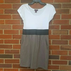 Mascara Dresses & Skirts - Gray, black and white dress