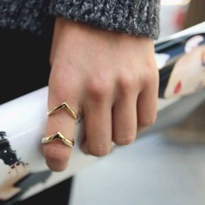 Jewelry - Silver Arrow Cuff Ring