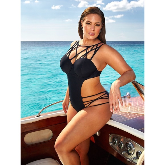 bed75e8fb0 Ashley Graham x Swimsuits for All Liaison. M 58f27a0b68027813e401965a
