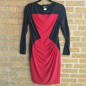Red and black Ralph Lauren dress