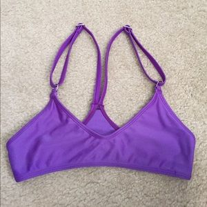 pakaloha Other - Pakaloha purple t back surf bikini top Maui small