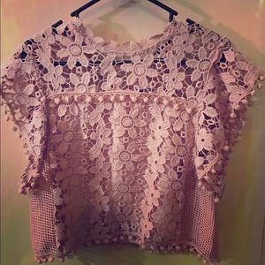 Romeo & Juliet Couture Other - !!ON SALE!!! Blush pink top