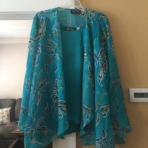 Bob Mackie Dress top set