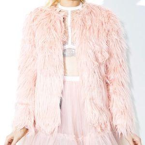 Dolls Kill Faux Fur Coat