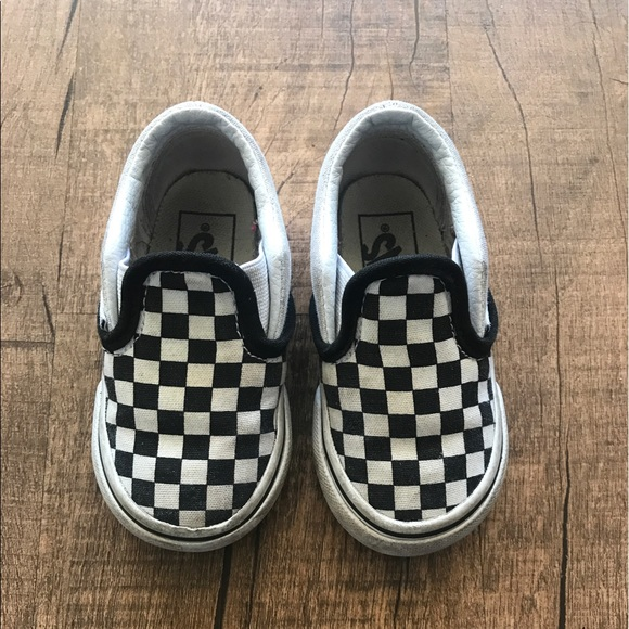 Vans Shoes | Toddler Size 5 Checkered