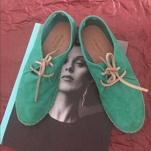 Brand new Women's mint espadrilles Sebago💚