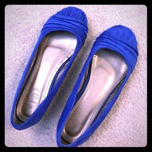 Ollio Shoes - ⬇️ Blue Suede Shoes - EUC