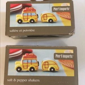 Pier 1 Imports Salt and Pepper Shakers