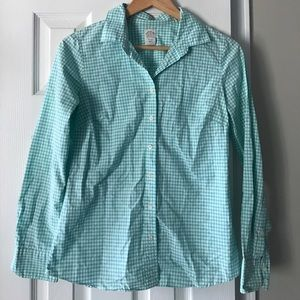 J crew the perfect shirt button up gingham 2