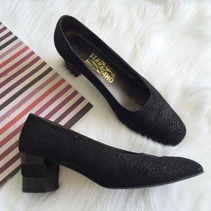 Ferragamo Shoes - Salvatore Ferragamo Classic Block Heel Pumps