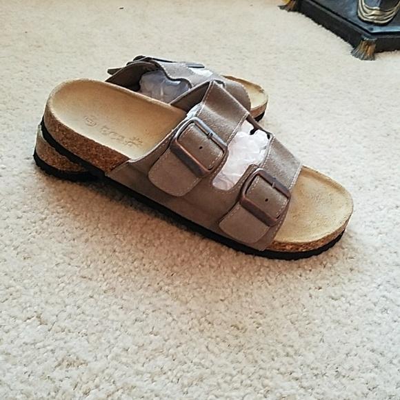 7703618569031 ecsa Shoes - Ecsa two strap sandals