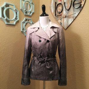 Jackets & Blazers - Ombré Dip-Dye Jacket