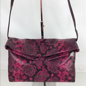 Michael Kors Handbags - Michael Kors Daria Embossed Clutch & Shoulder Bag