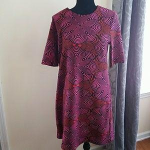 Taylor pattern dress