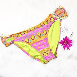 Trina Turk Other - Trina Turk Woodblock Hipster Bikini Bottom