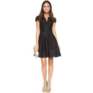 Halston Heritage Dresses & Skirts - Halston Heritage Black Notch Neck Tulip Dress