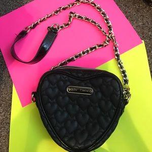  Betsey Johnson Heart Bag 