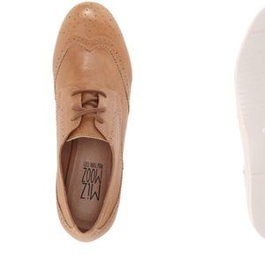 Miz Mooz Shoes - Miz Mooz Harmony Leather Oxfords in Camel 6