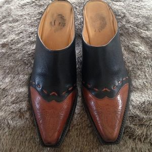 Lucchese Shoes - Lucchese Charlie 1 Horse Snip Toe Mules