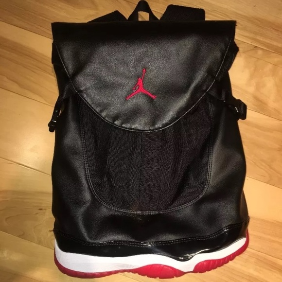Jordan Bags   Authentic Nike 11 Premium Bred Shoe Bag   Poshmark 8037785d94