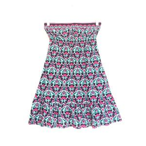 BECCA Other - BECCA swimwear printed strapless coverup small