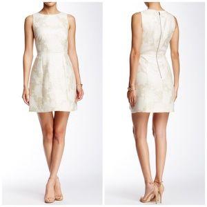 Alice + Olivia Dresses & Skirts - Alice + Olivia Metallic Mea Jacquard A-line Dress