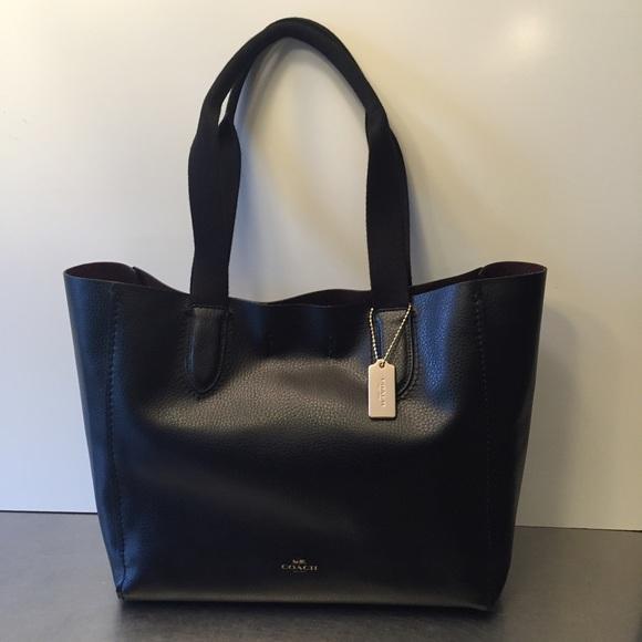 938505ab8bb5 Coach Handbags - NWT Coach Derby Tote Pebbled leather