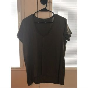 { Zara } Dark Olive Green Tee Shirt