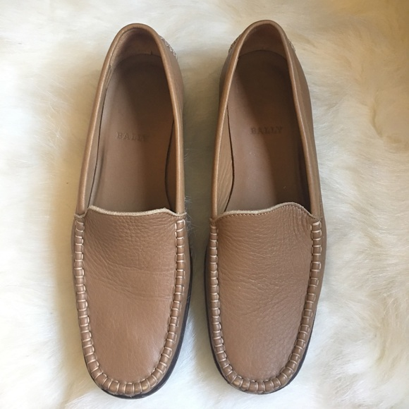 d6168f72b49 Bally Shoes - Bally Dairy pebbled tan camel leather loafer