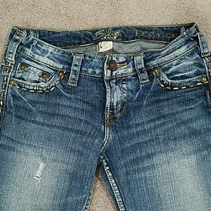 Silver Jeans. Stlye:Frances. Boot cut. Low rise.