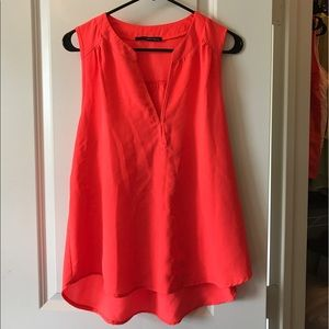 Tops - Neon coral top