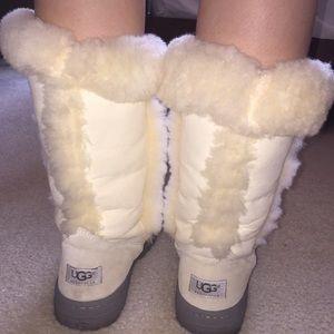 UGG Shoes - UGG Australia White Fur Boots