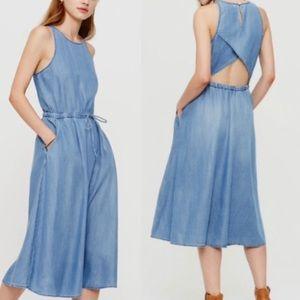 Lou & Grey Dresses & Skirts - Lou & Grey Denim Chambray Midi Dress!