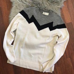 A.L.C. Sweaters - A.L.C. Daniel zig zag sweater