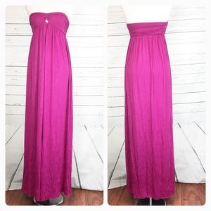 Rachel Pally Strapless Maxi dress