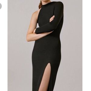 Topshop Dresses & Skirts - NWT Topshop one shoulder ribbed midi dress