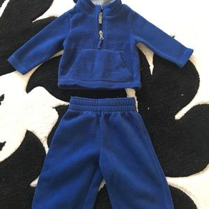 Children's Place Other - Snuggly warm navy 6-9 months outfit