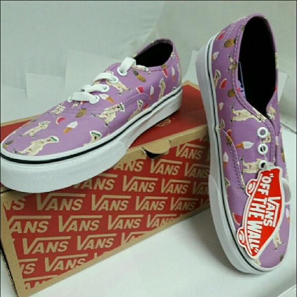 9472397864 VANS Auth. Pool Vibes Violet Skateboarding Dog