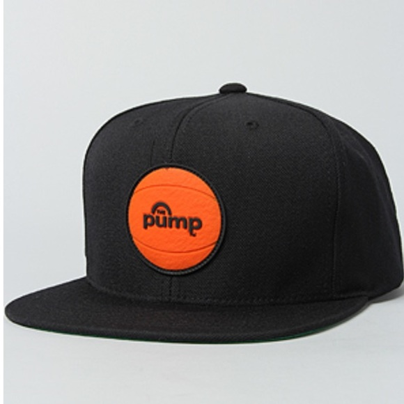 f7092c6d683 1 DAY SALE❗️Reebok The Pump Logo Snapback Hat