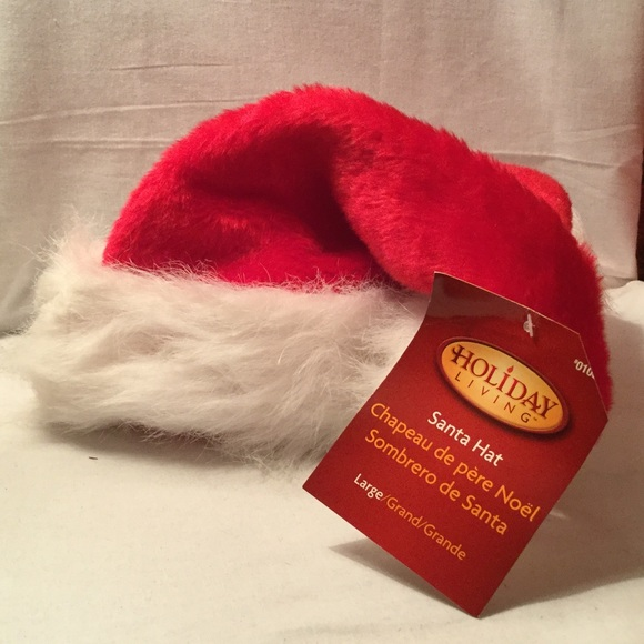 2017bef605d85 Traditional Santa hat size large. NWT. holiday living