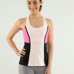 lululemon athletica Tops - LULULEMON Cool Racerback Surf Bonded Tank Top