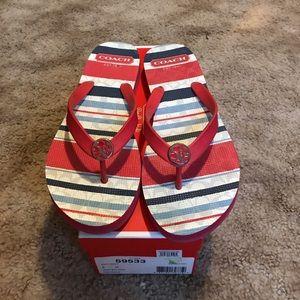 Coach Shoes - Flip-flops