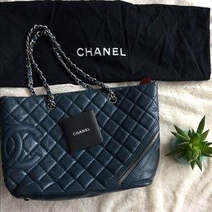 Chanel tote - very loved and gently used