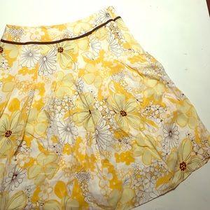 Bob Mackie Pleated Skirt
