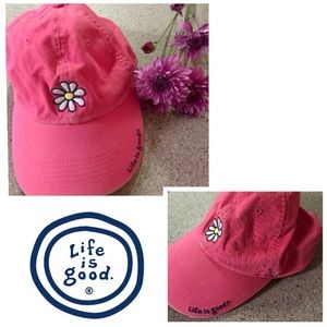 Patagonia Accessories - ️1-HOUR-SALE‼️ Life is Good Baseball cap Daisy