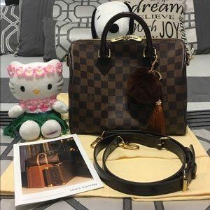Louis Vuitton Handbags - Authentic Louis Vuitton Speedy 25 Bandouliere