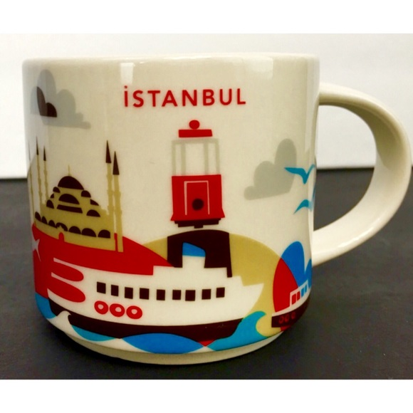 Starbucks Istanbul Here Mug You Are Yby67gf