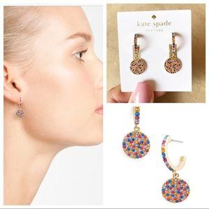 kate spade Jewelry - NWT Kate Spade 🌈✨ Shine On Pave Drop Earrings 🌈
