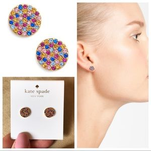 kate spade Jewelry - NWT Kate Spade 🌈✨ Shine On Stud Earrings 🌈