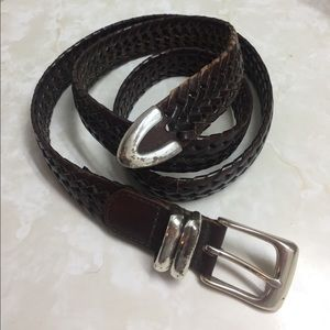 Roundtree & Yorke Other - Men's Roundtree & York Braided Leather Belt. 44